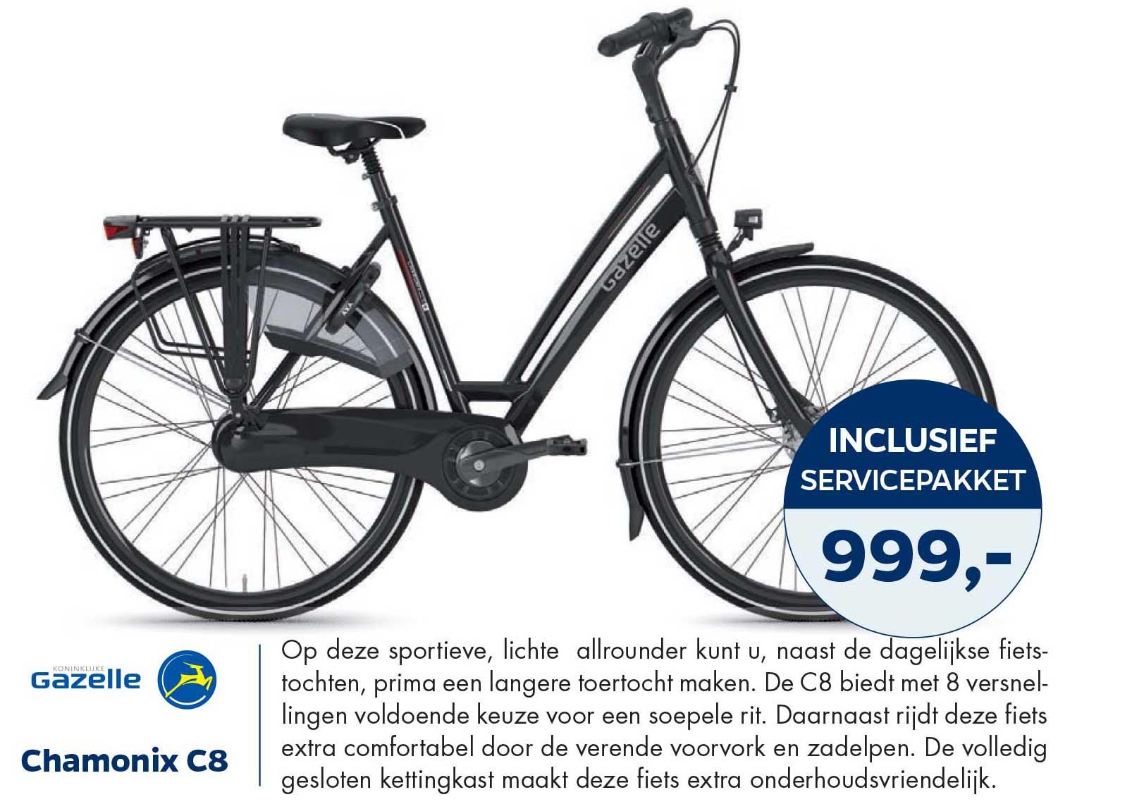 Bike Totaal Gazelle Chamonix C8