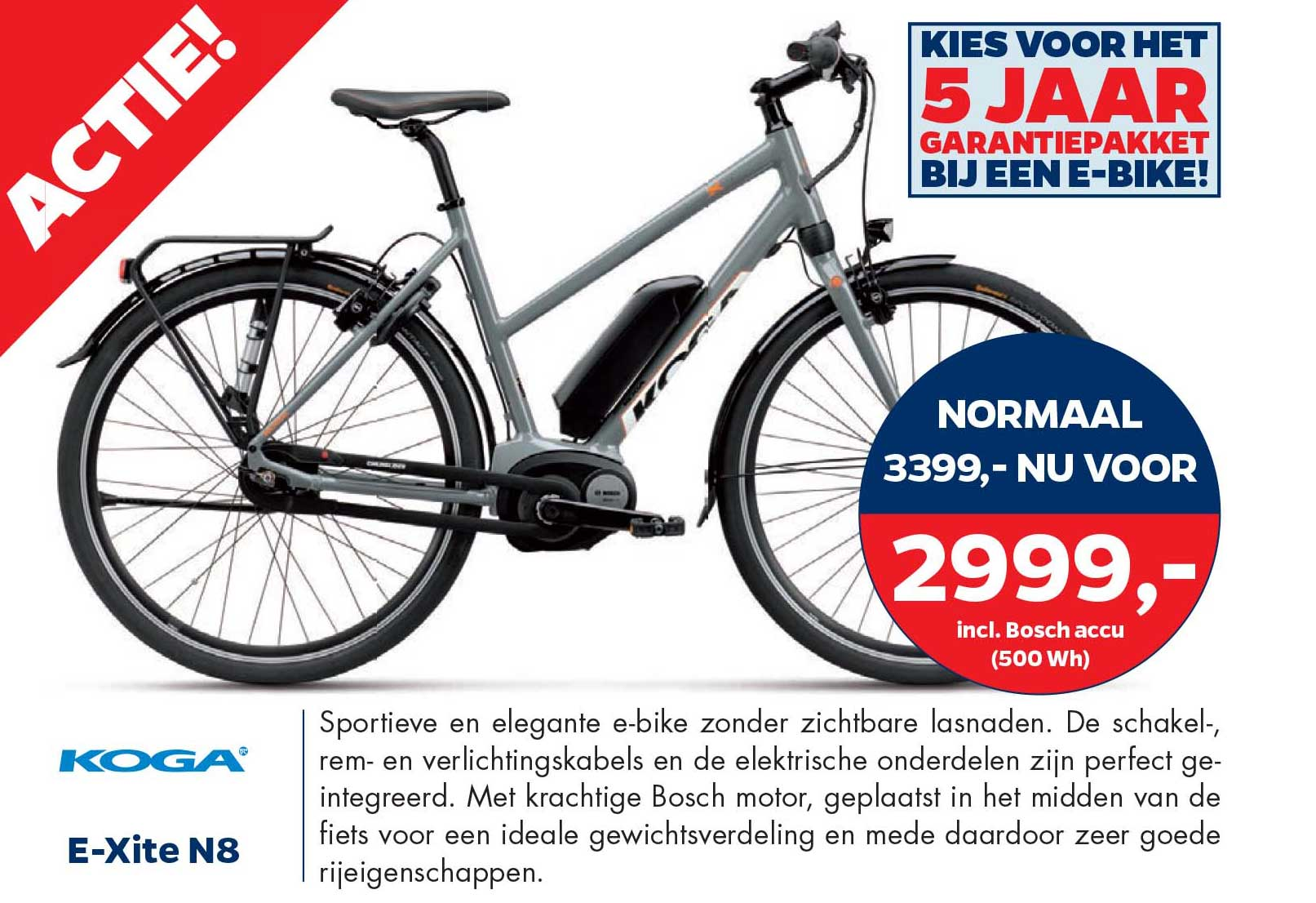 Bike Totaal Koga E-xite N8 E-bike