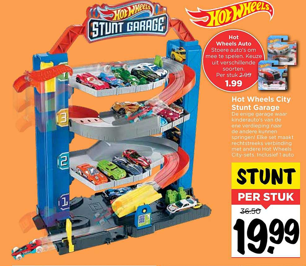 Vomar Hot Wheels City Stunt Garage