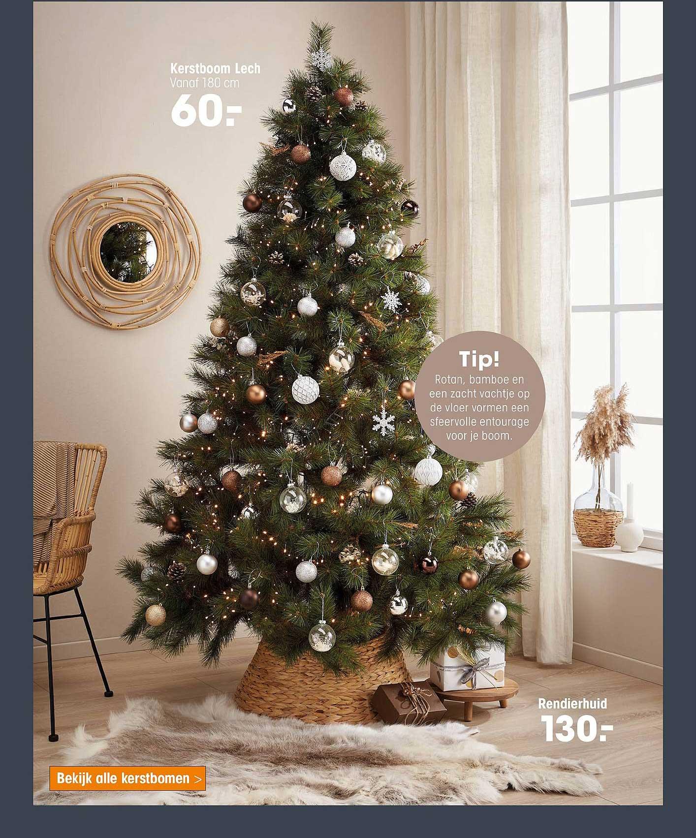 Kwantum Kerstboom Lech Of Rendierhuid
