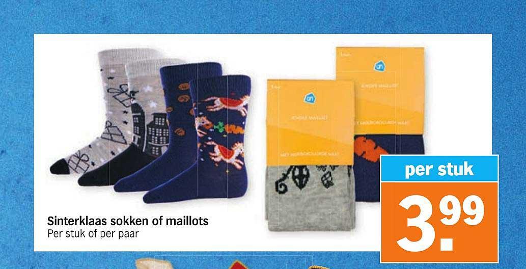 Albert Heijn Sinterklaas Sokken Of Maillots