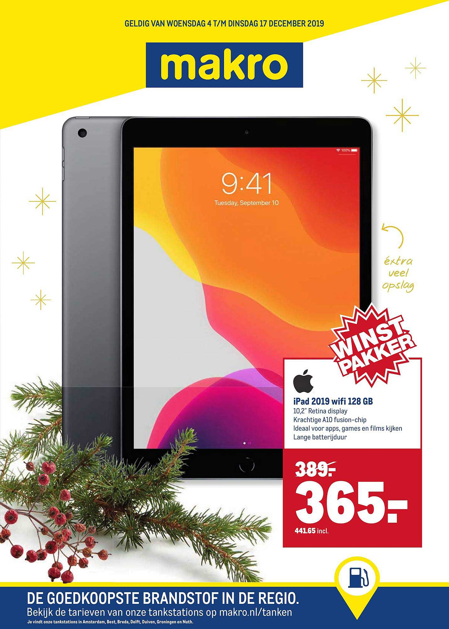 Makro Ipad 2019 Wifi 128 GB