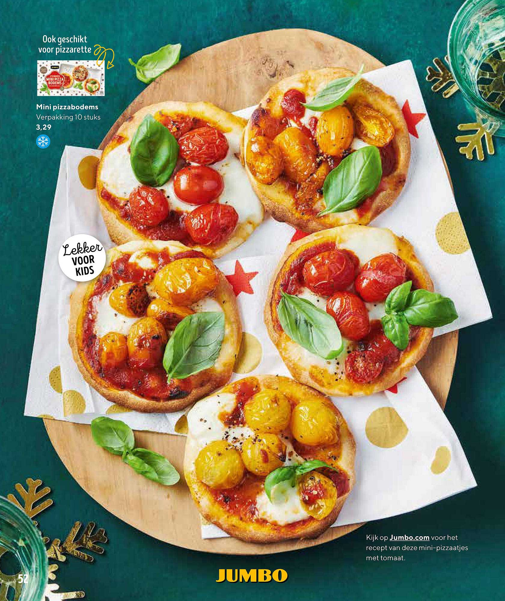Jumbo Mini Pizzabodems