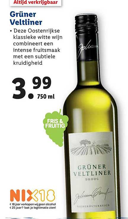 Lidl Gruner Veltliner