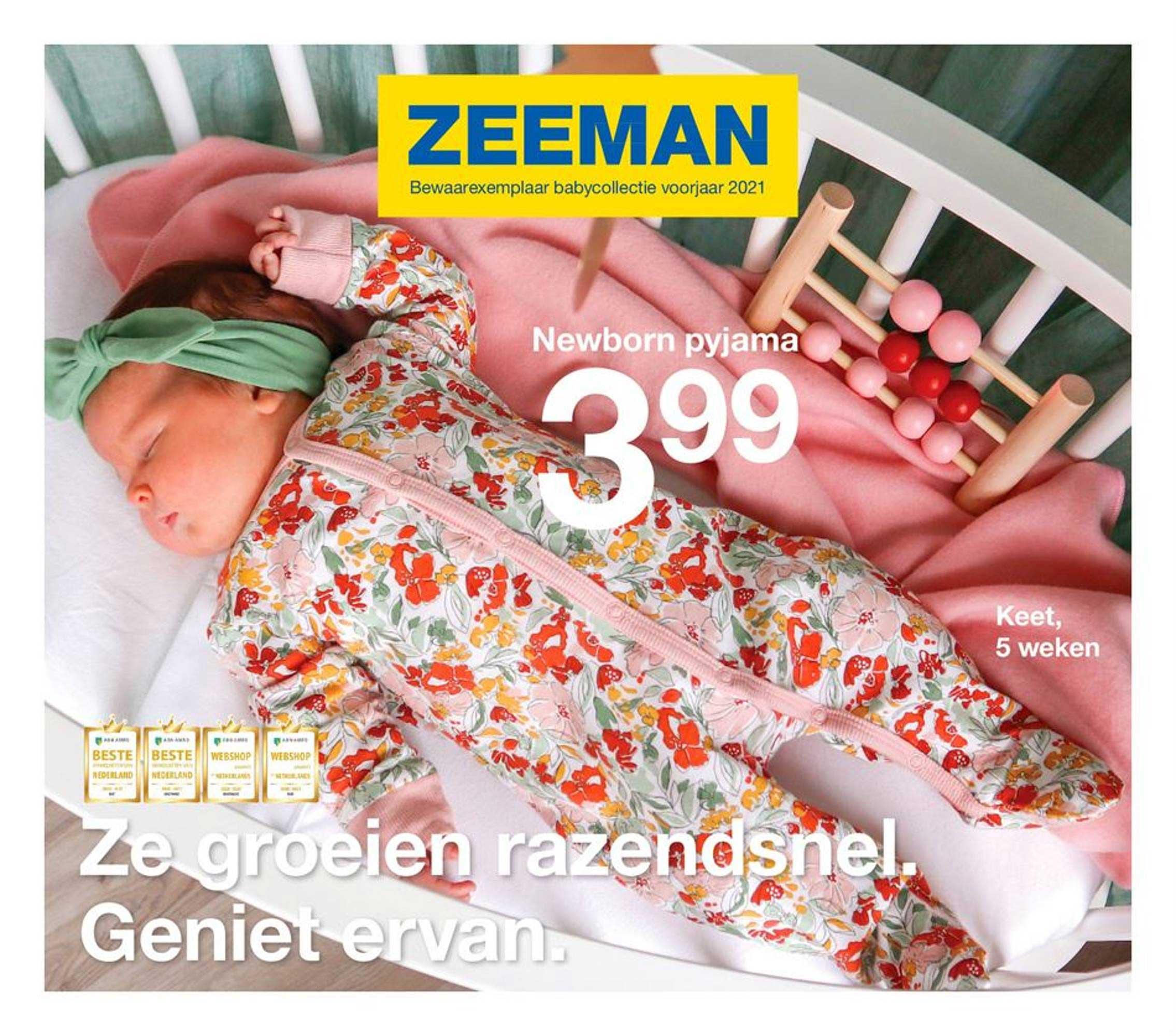 Zeeman Newborn Pyjama