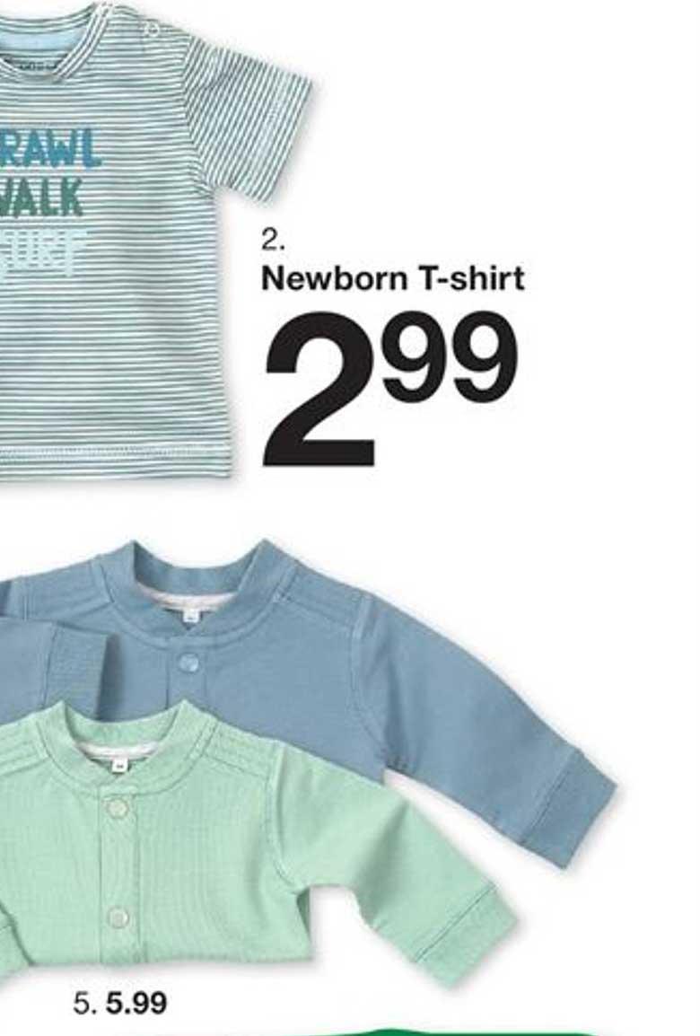 Zeeman Newborn T-Shirt
