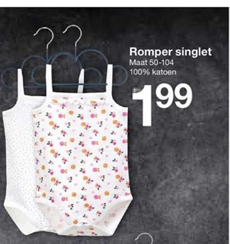 Zeeman Romper Singlet