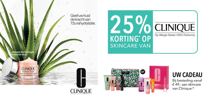 Douglas 25% Korting Op Skincare Van Clinique