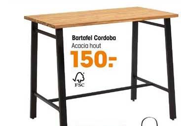 Kwantum Bartafel Cordoba