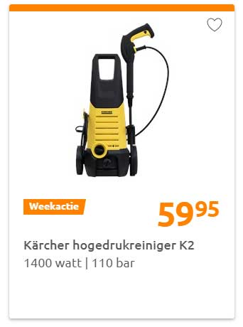 Action Karcher Hogedrukreiniger K2