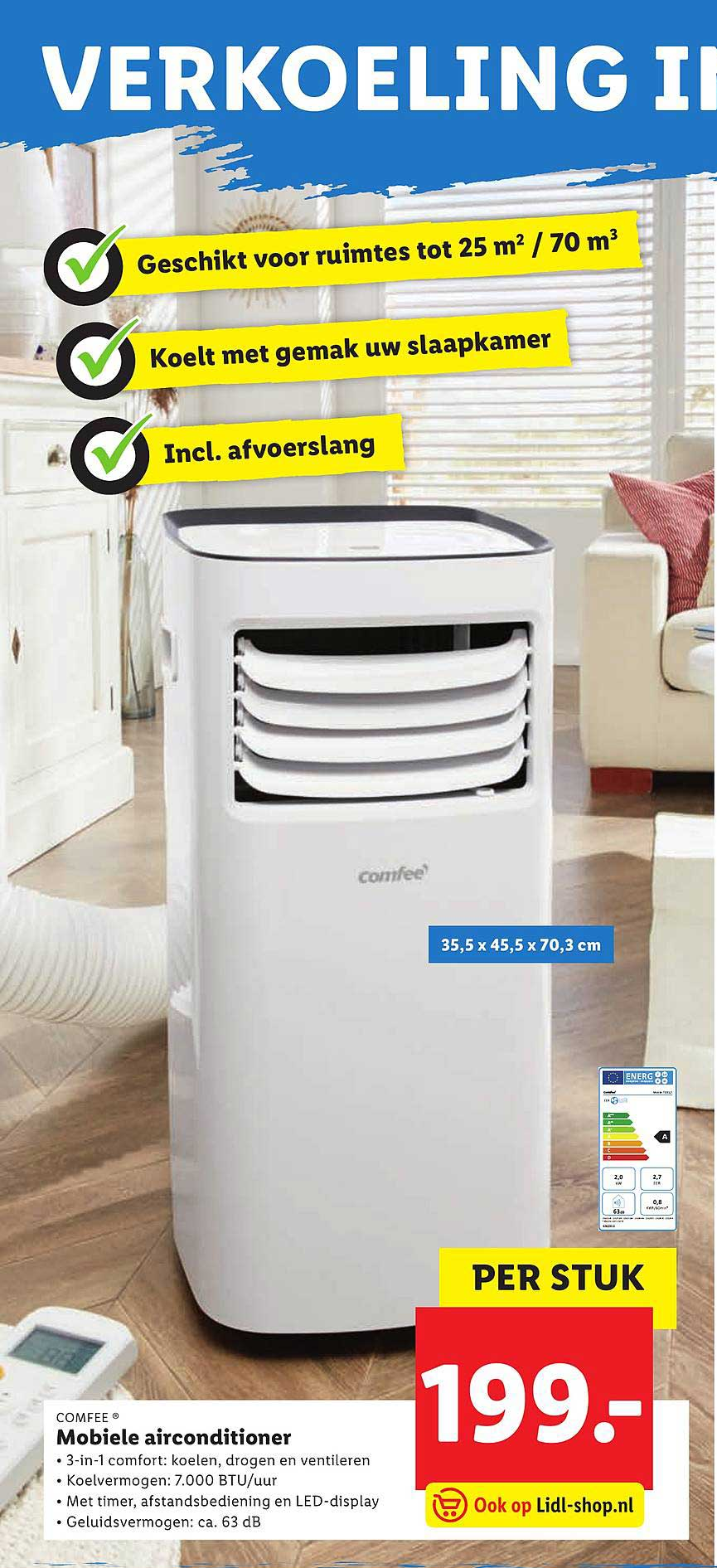 Lidl Mobiele Airconditioner