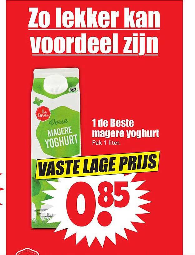 Dirk 1 De Beste Magere Yoghurt
