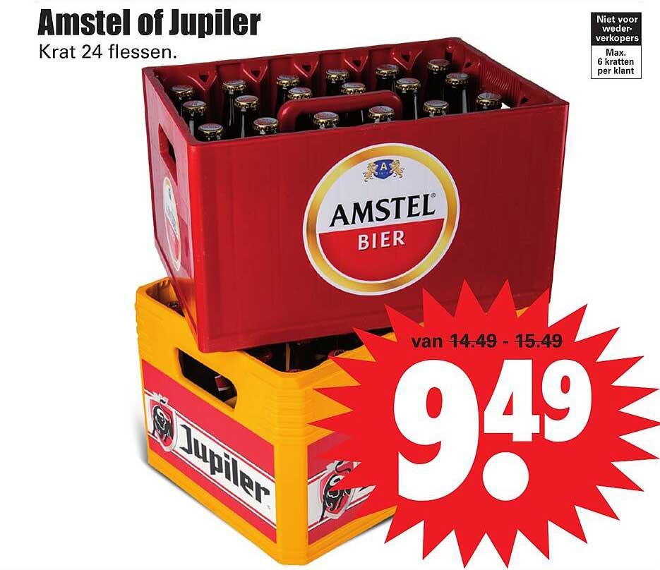 Dirk Amstel Of Jupiler