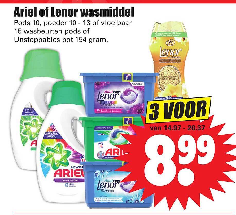 Dirk Ariel Of Lenor Wasmiddel