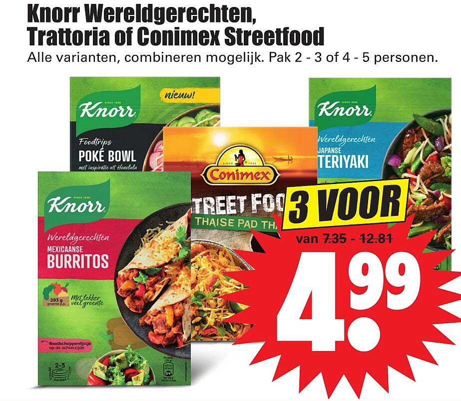Dirk Knorr Wereldgerechten, Trattoria Of Conimex Streetfood