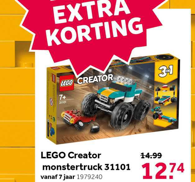 Intertoys Lego Creator Monstertruck 31101