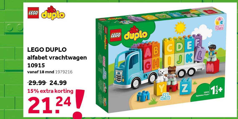 Intertoys Lego Duplo Alfabet Vrachtwagen 10915