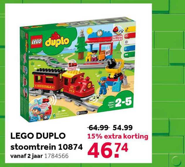 Intertoys Lego Duplo Stoomtrein 10874