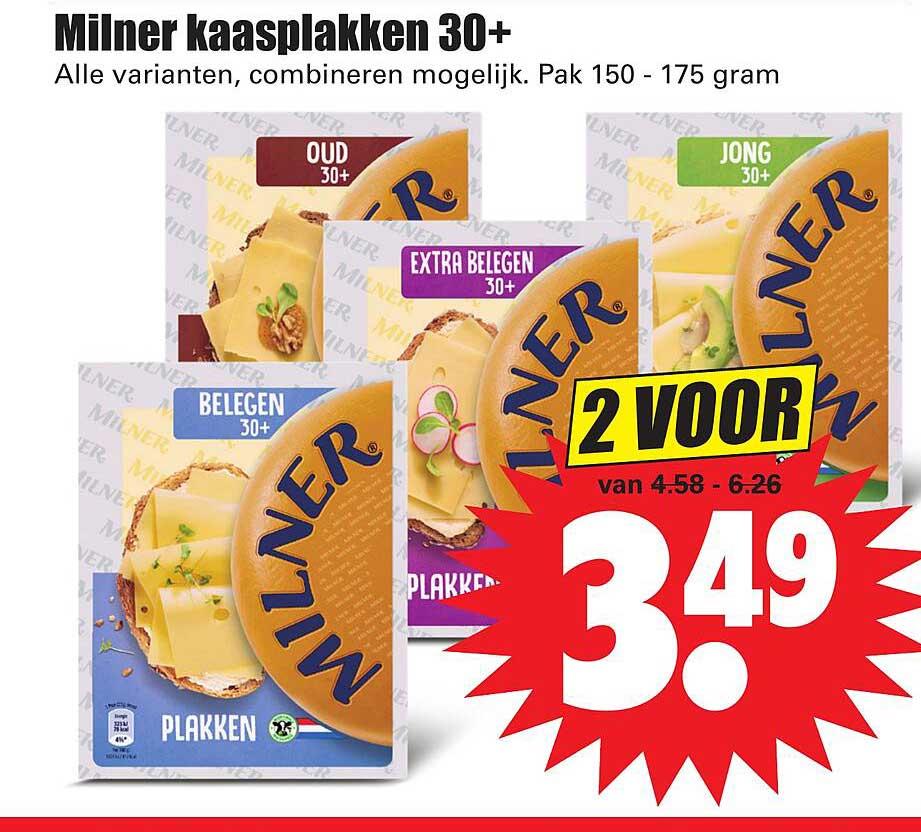 Dirk Milner Kaasplakken 30+