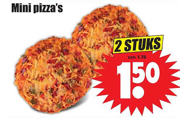 Dirk Mini Pizza's