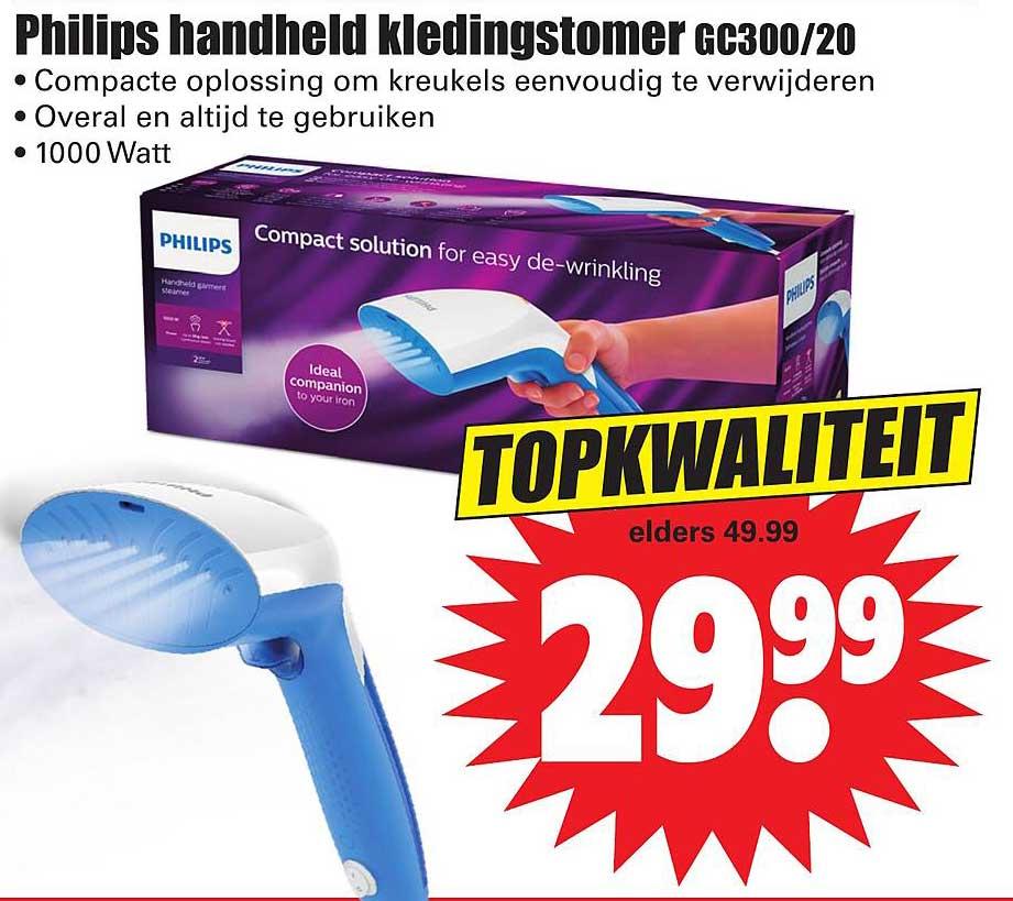 Dirk Philips Handheld Kledingstomer GC300-20