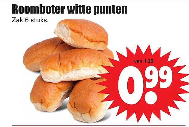 Dirk Roomboter Witte Punten