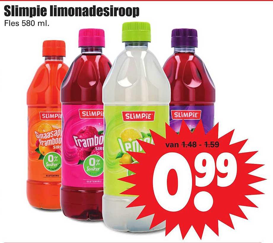 Dirk Slimpie Limonadesiroop