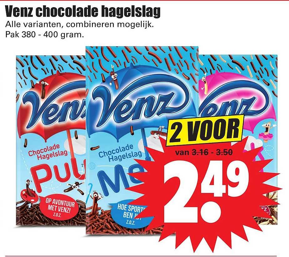 Dirk Venz Chocolade Hagelslag