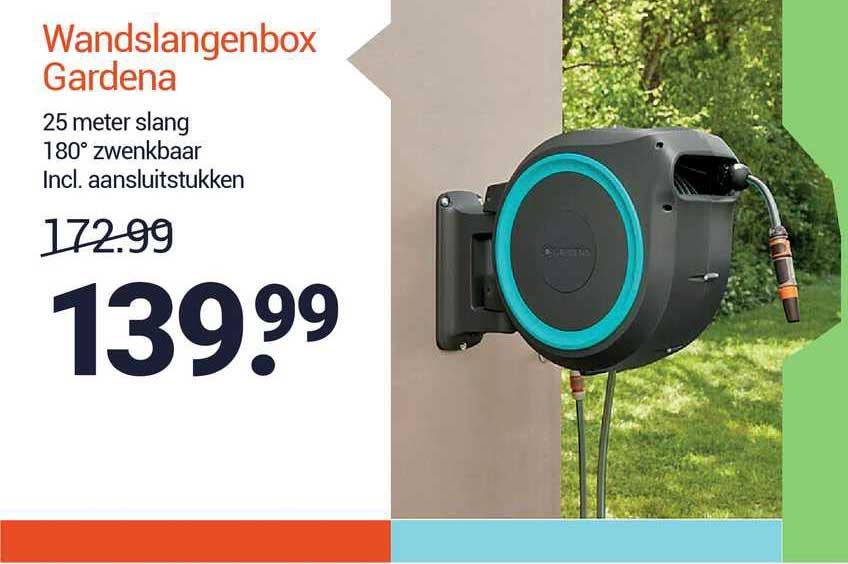 Inter Chalet Wandslangenbox Gardena