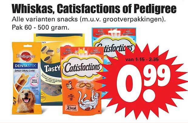 Dirk Whiskas, Catisfactions Of Pedigree