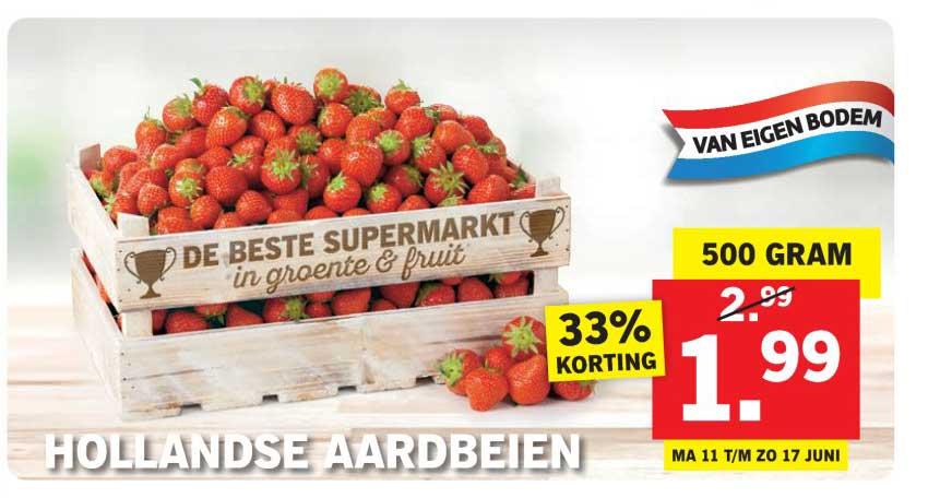 Lidl Hollandse Aardbeien
