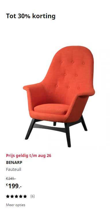 IKEA Benarp Fauteuil
