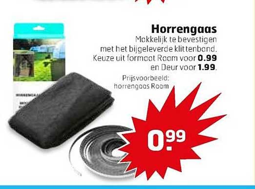 Trekpleister Horrengaas