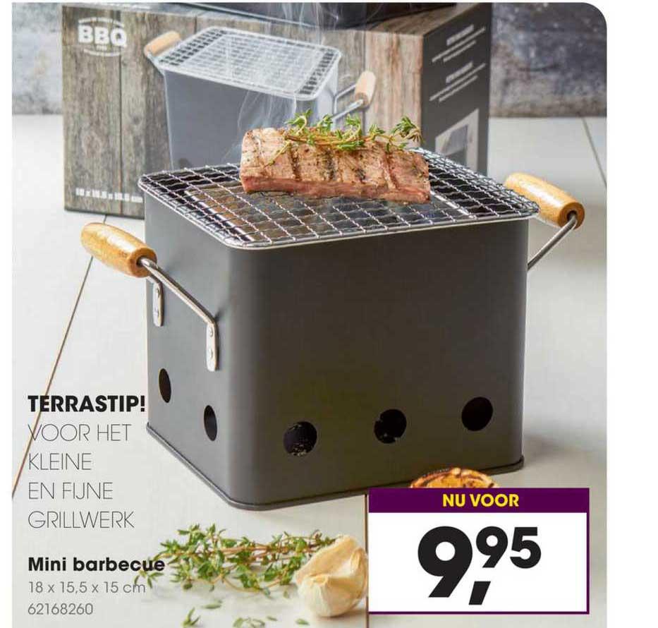 Mini Barbecue Aanbieding bij Hanos