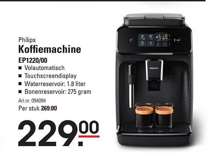 Sligro Philips Koffiemachine