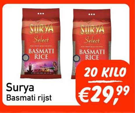 Tanger Markt Surya Basmati Rijst