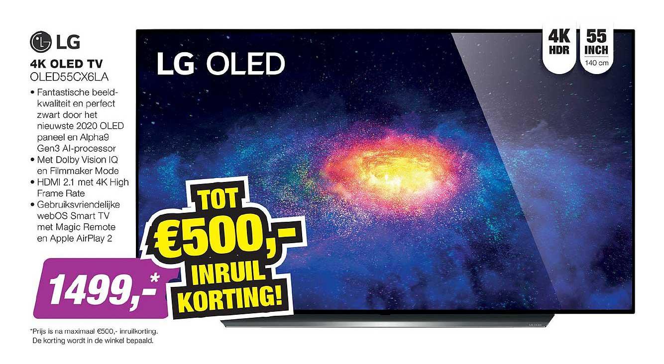 EP LG 4K OLED TV OLED55CX6LA