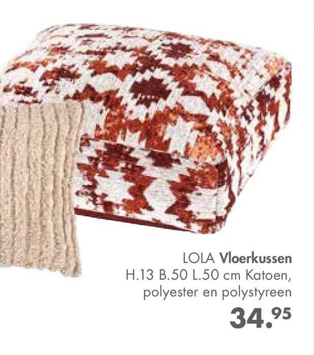 CASA Lola Vloerkussen