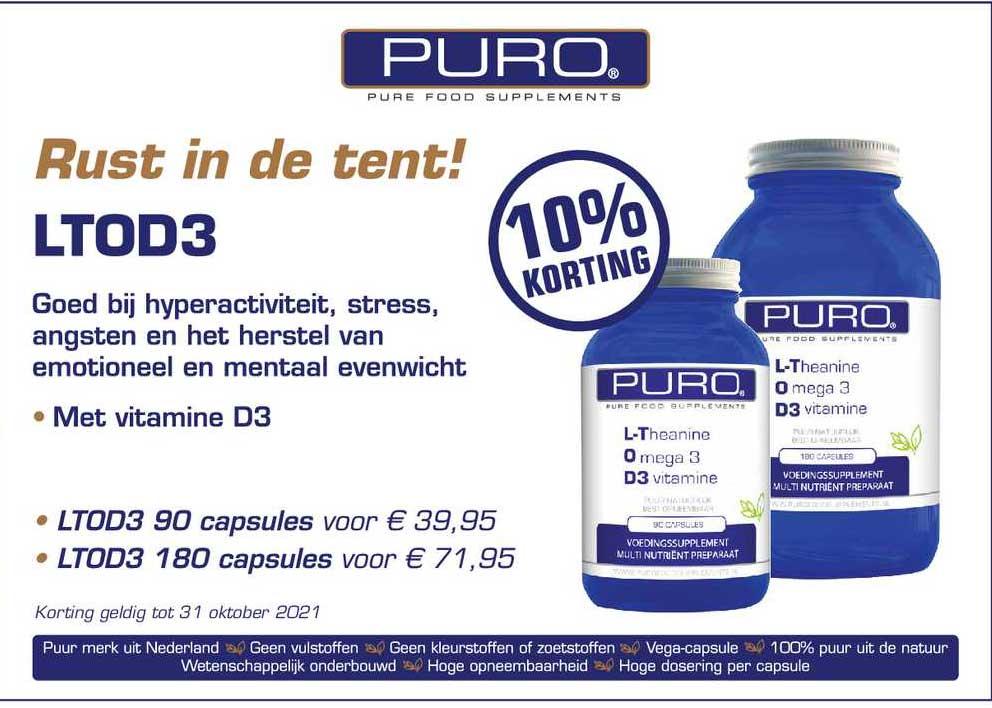 Rode Pilaren Puro LTOD3 10% Korting