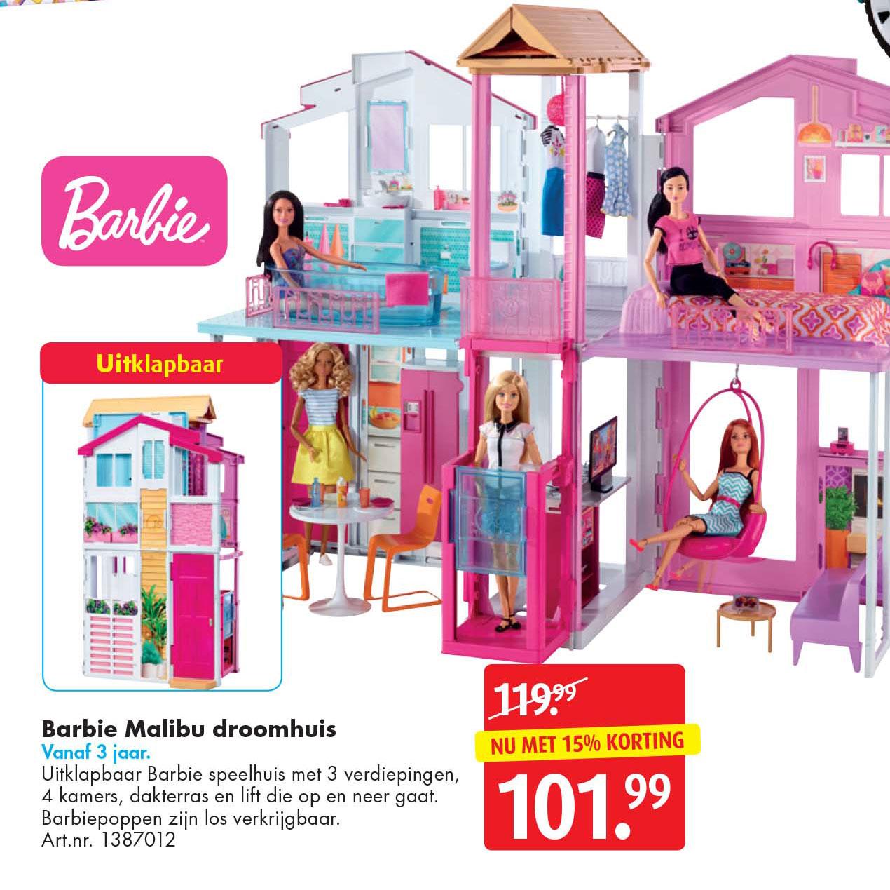 Bart Smit Barbie Malibu Droomhuis