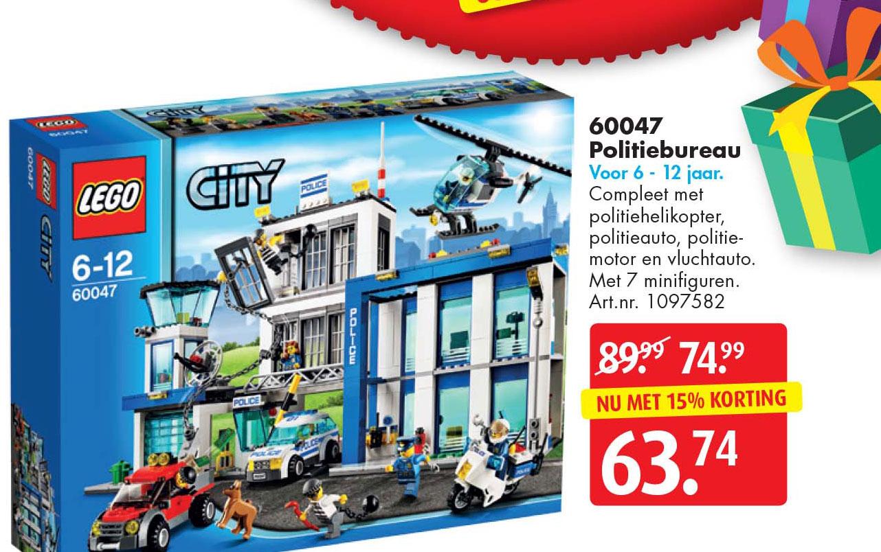 Bart Smit Lego City Politiebureau 60047