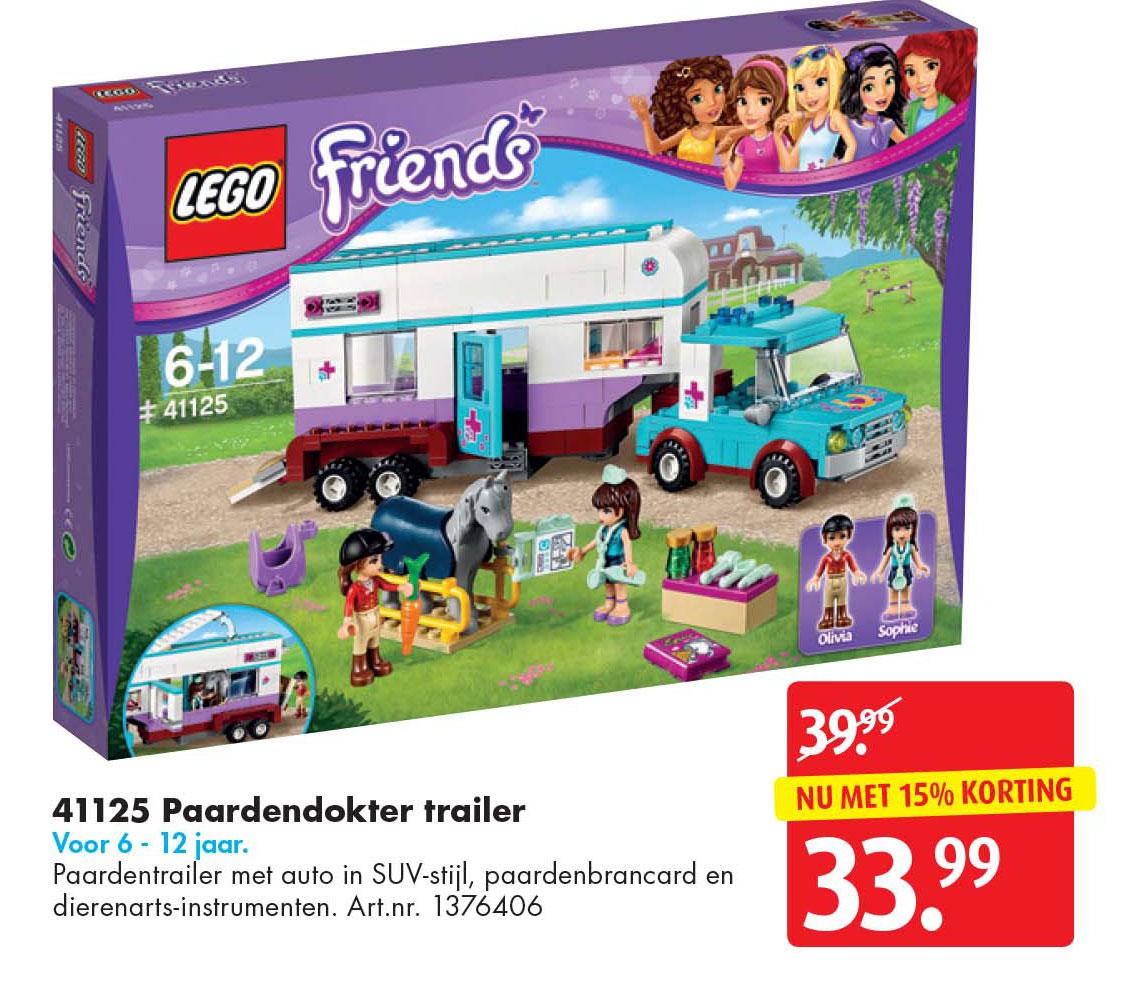 Bart Smit Lego Friends Paardendokter Trailer 41125