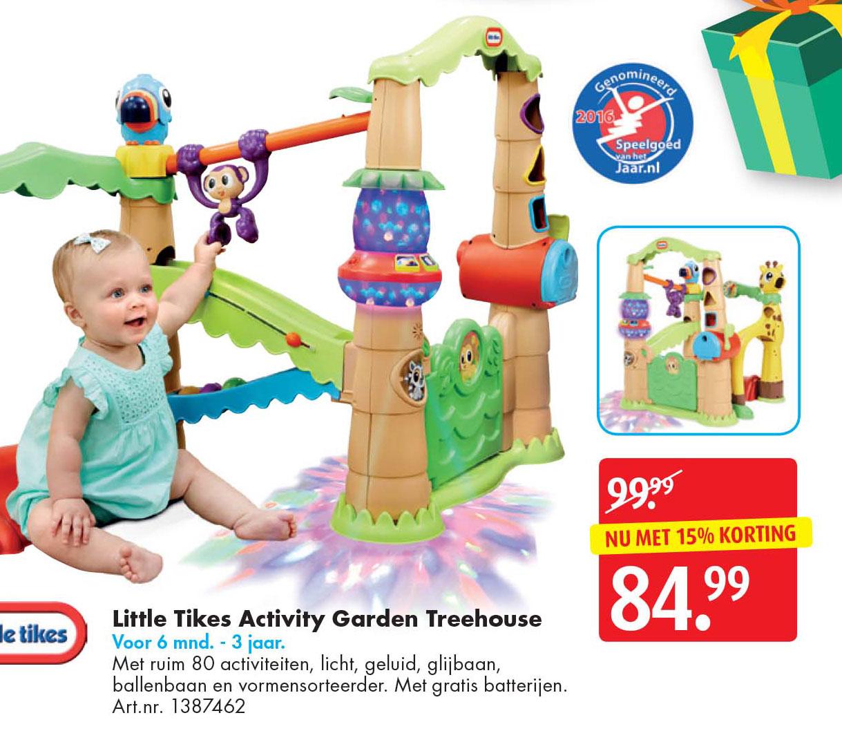 Bart Smit Little Tikes Activity Garden Treehouse