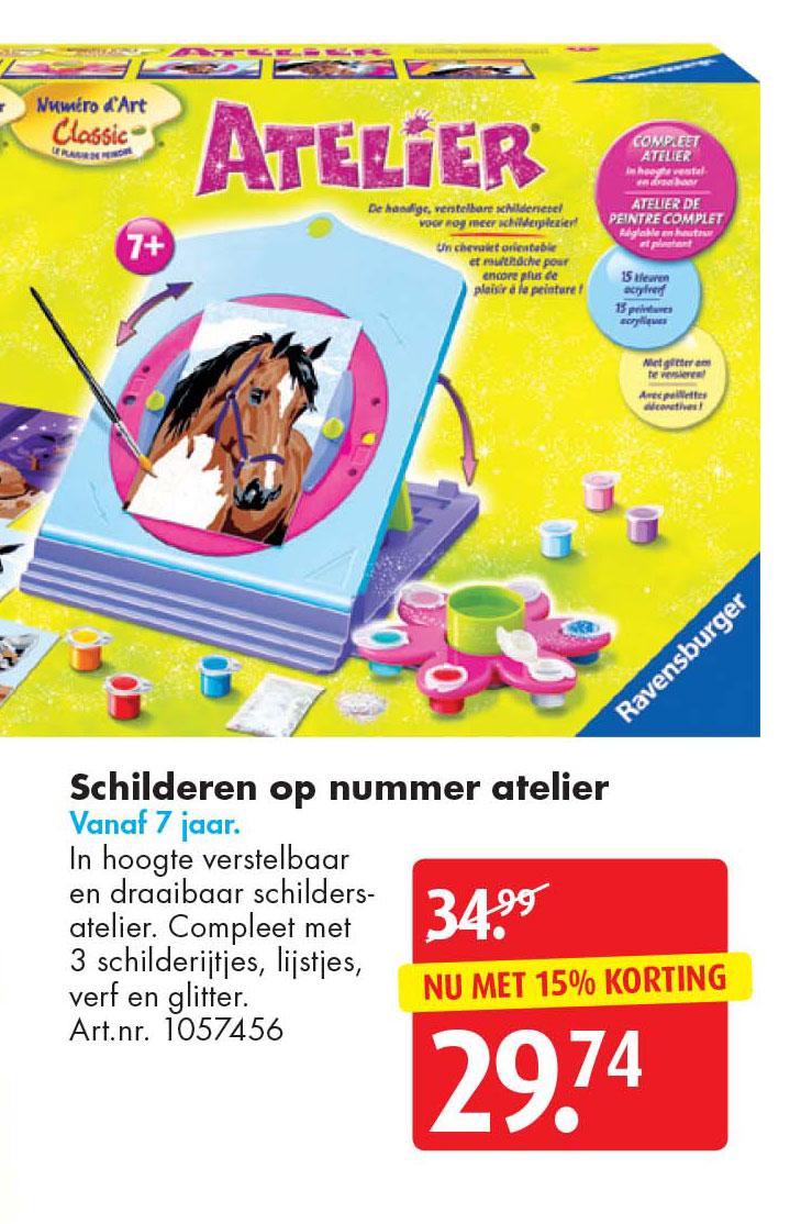Bart Smit Schilderen Op Nummer Atelier