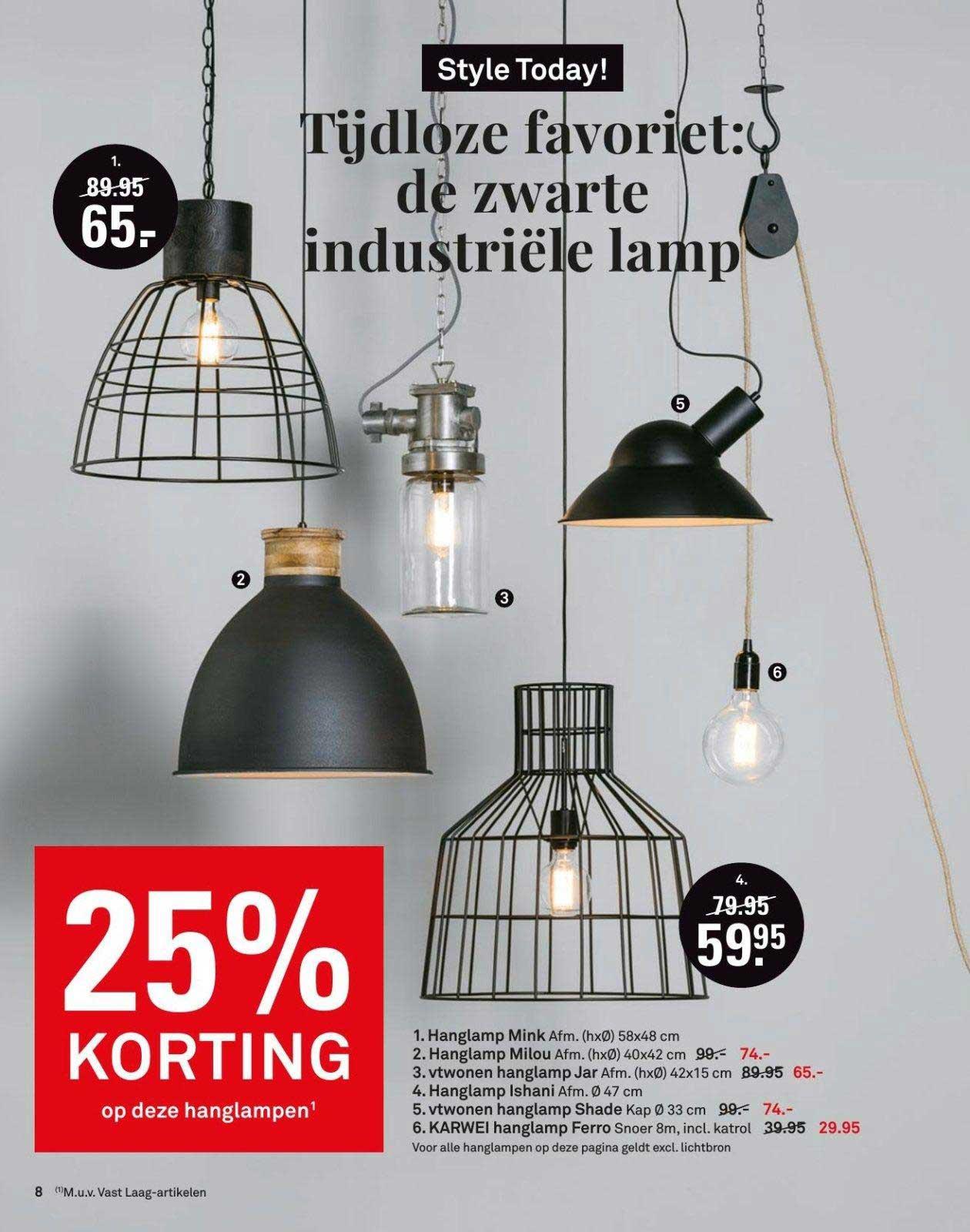 Karwei 25% Korting Op Deze Hanglampen