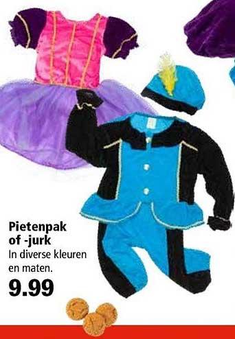 Marskramer Pietenpak Of Jurk
