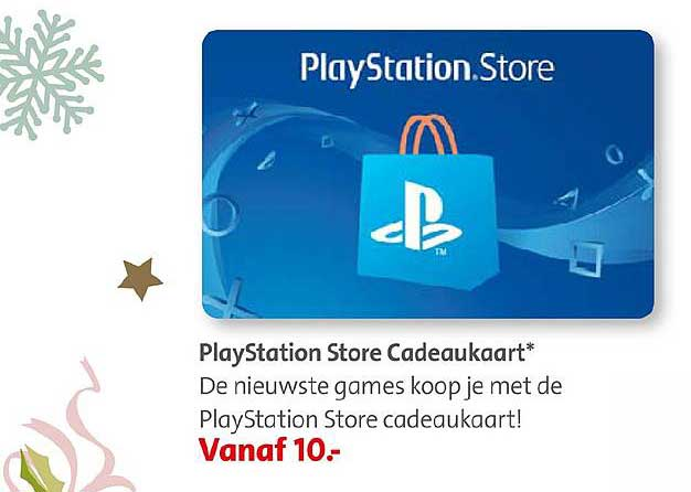 Bruna PlayStation Store Cadeaukaart