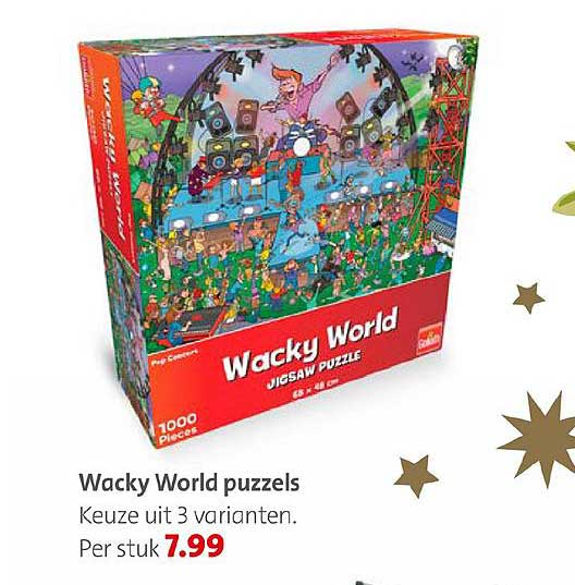 Bruna Wacky World Puzzels