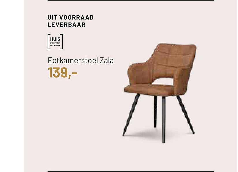 Piet Klerkx Huis Eetkamerstoel Zala
