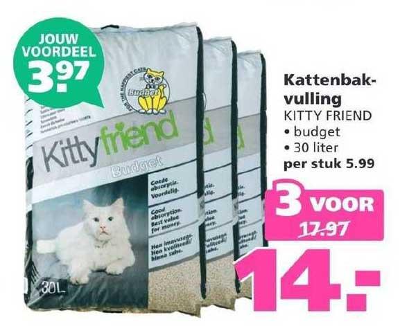 Ranzijn Tuin & Dier Kattenbakvulling Kitty Friend
